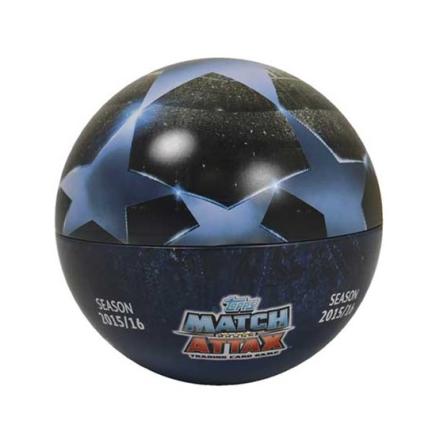 Fotbollsbilder Fotbollskort - Ball Tin Nordic Edition Topps MA - Champions League 2015-16