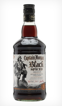 Captain Morgan Black Spiced 1 lit
