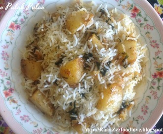 Aloo Palak Recipe Hebbar S Kitchen