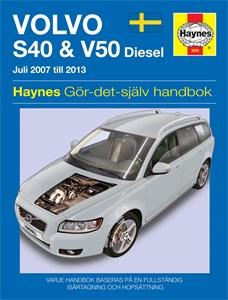 Haynes Reparationshandbok, Volvo S40 & V50, Volvo S40 & V50 Diesel