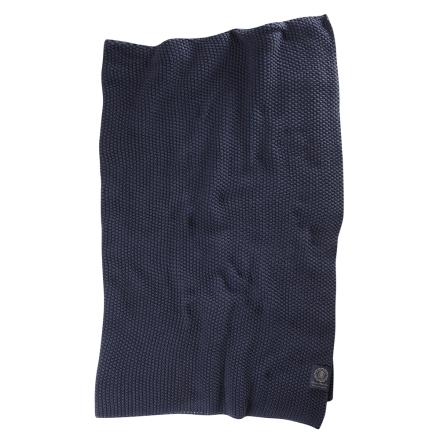 Grand Design Pläd Moss Knit Navy 120x180 cm