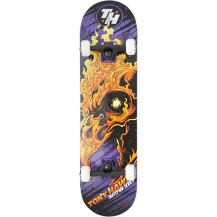 """Tony Hawk - Skateboard - Tony Hawk - Flaming Hawk, Tour Series 31"""""""