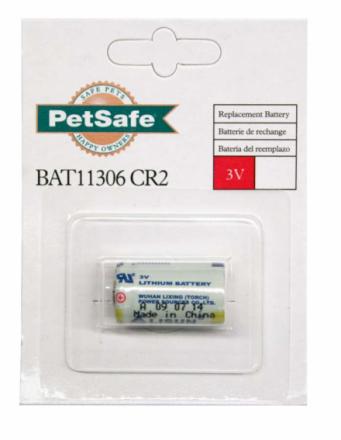 Batteri till Antiskällhalsband PetSafe De Luxe Spray