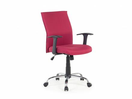 Kontorsstol röd - snurrbar - datorstol - arbetsstol - ELITE