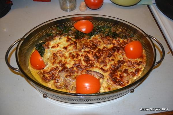 Fläskfilé med ostsås