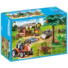 6814 Playmobil Skogsarbetare med Traktor