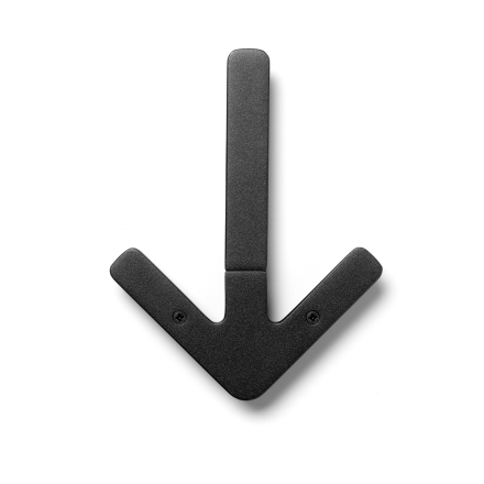 Design House Stockholm Arrow hanger Black