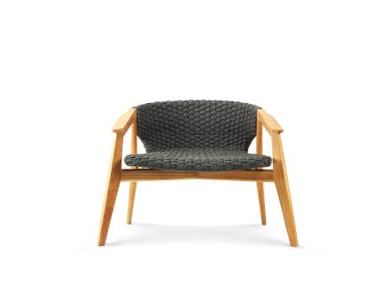 Ethimo Knit Lounge Fåtölj - Teak