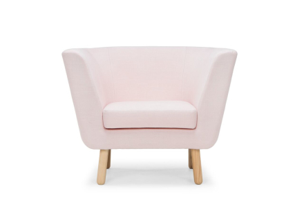 Design House Stockholm Fåtölj Nest Rosa