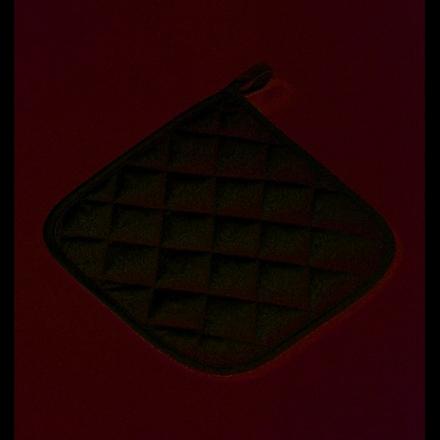 Bomullsartiklar 17 x 17 cm - vit ugnshandske
