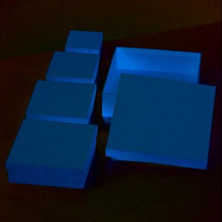 Ask fyrkantig 6,5/8,5/10,5/12,5/16,5 cm - 5 delar Se