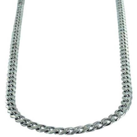 Halsband Sterling silver Pansarlänk 4,7 mm