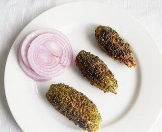 Bharwa Bhindi Recipe Hebbar Kitchen