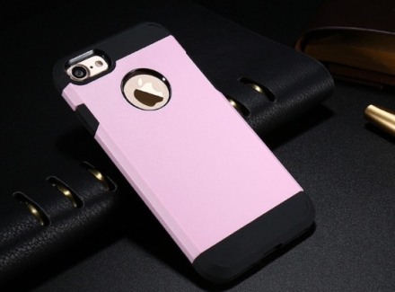 Praktiskt Armor Hybrid Skal till iPhone 7 från FLOVEME ROSA