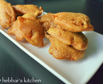 Onion Pakoda Hebbar S Kitchen
