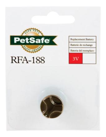 Batteri till Antiskällhalsband PetSafe Elite Spray, Liten