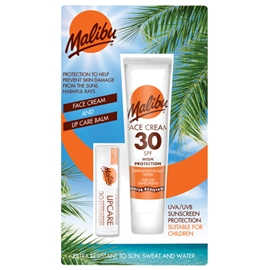 Malibu Face Cream SPF 30 & Lip Balm SPF 30 1 set
