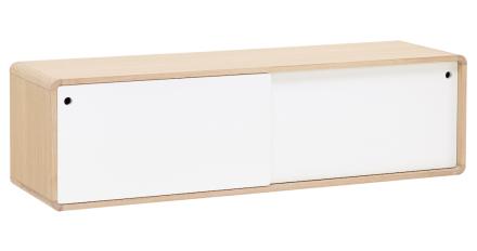 CASØ 500 Vägghängd Tv-möbel Vit