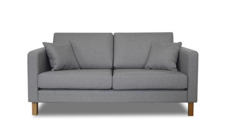 Iris 2-Sits Soffa Grå