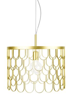Globen Lighting - Taklampa Gatsby Mässing