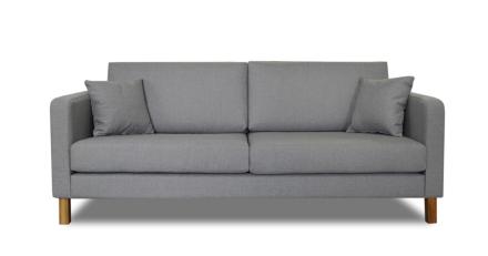 Iris 3-Sits Soffa Grå