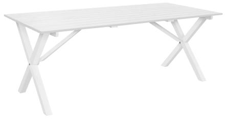 Garden Design Scottsdale Bord Vitlaserad Furu - 190 cm