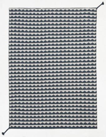 Brita Sweden Matta Återvunnen Plast Gittan Twin Steel 150x250 cm
