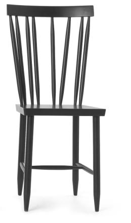 Design House Stockholm Family Chair No.4 Svart 2-pack