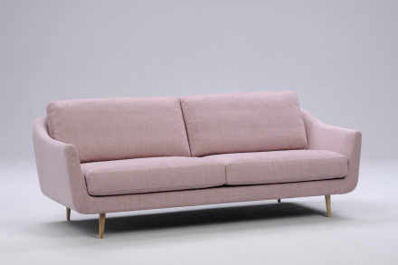 Interface Duna 3-sits soffa Rosa