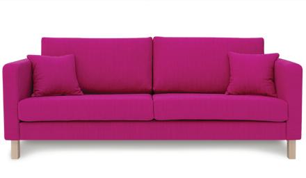 Iris 3-Sits Soffa Pink