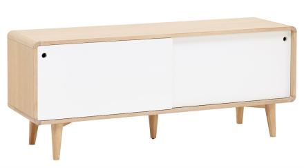 CASØ 500 Tv-möbel Vit
