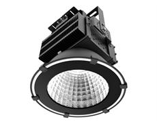 LED industriarmatur Pro 150W 230V IP65 Svart, Driftsäker LED industriarmatur med flimmerfritt ljus. För 6-8m takhöjd. 5 års garanti.