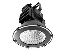 LED industriarmatur Pro 100W 230V IP65 Svart, Driftsäker LED industriarmatur med flimmerfritt ljus. För 4-6m takhöjd. 5 års garanti.