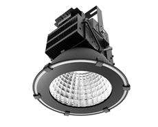LED industriarmatur Pro 200W 230V IP65 Svart, Driftsäker LED industriarmatur med flimmerfritt ljus. För 7-9m takhöjd. 5 års garanti.