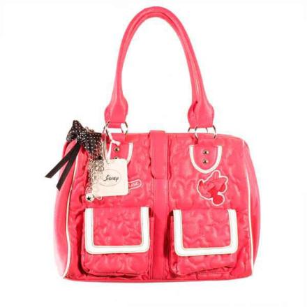 Handväska DISNEY Rosa Mimmi Lappstil