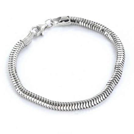 Armband Sterling silver Ormlänk 5mm