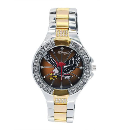 Klocka Ed Hardy Warrior Eagle Two Tone Watch