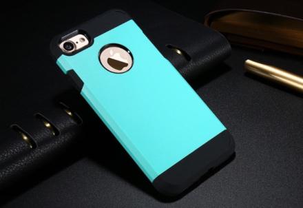 Praktiskt Armor Hybrid Skal till iPhone 7 från FLOVEME MINT