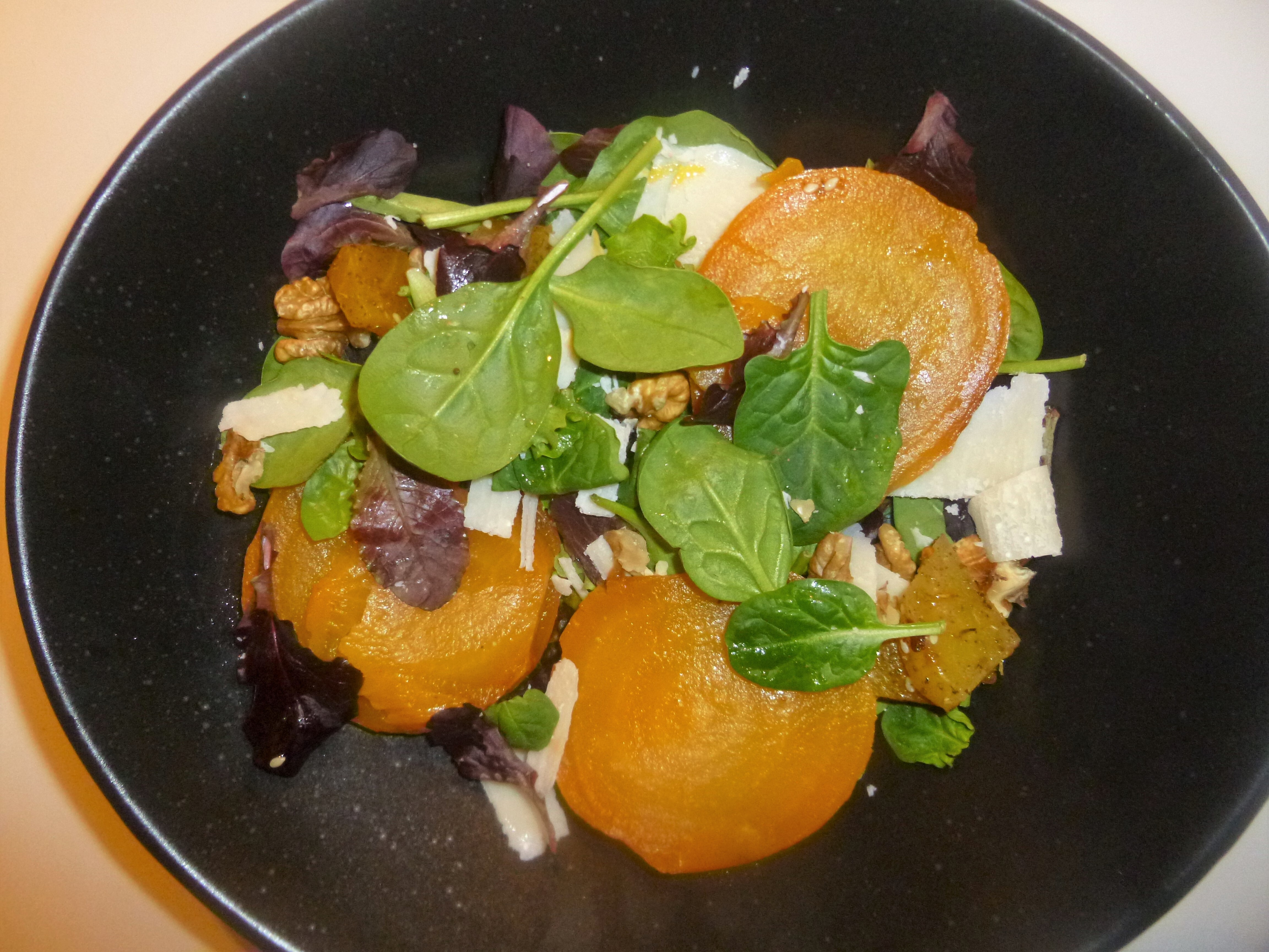Roasted and Pickled Golden Beetroot Salad Recipe