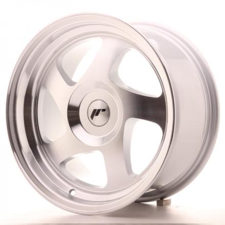 JAPAN RACING JR15 Silver Machined Face 16x8 ET25 CB74.1 5x114.3