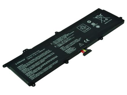 Laptop batteri C21-X202 för bl.a. Asus VivoBook X201E - 5000mAh