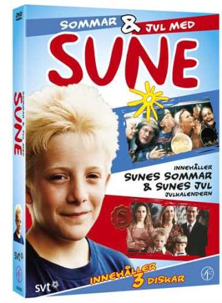 Sune Box: Sommar & jul med Sune (3 disc)
