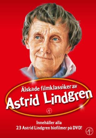 ;Astrid Lindgren / Boxen med alla filmer