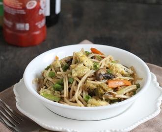 Egg Schezwan Noodles Recipes Mytaste