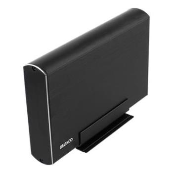 """;HD kabinett externt 1x3,5"""""""" SATA-HDD, USB-C, USB"""