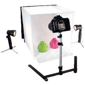 ;König Foldable Mini Photo Studio Halogen 40 x 40
