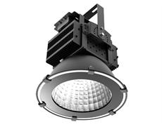 LED industriarmatur Pro 120W 230V IP65 Svart, Driftsäker LED industriarmatur med flimmerfritt ljus. För 5-7m takhöjd. 5 års garanti.