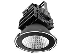 LED industriarmatur Pro 300W 230V IP65 Svart, Driftsäker LED industriarmatur med flimmerfritt ljus. För 8-10m takhöjd. 5 års garanti.