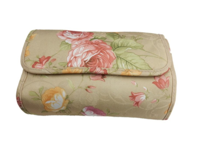 Necessär - Sminkväska Blommor   Antik Chelsa