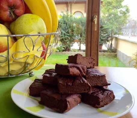 Fit brownies  Pochi carboidrati ma proteica..